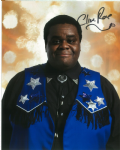 "Clive Rowe ""Morvin Van Hoff"" DOCTOR WHO genuine signed autograph COA 10 by 8"